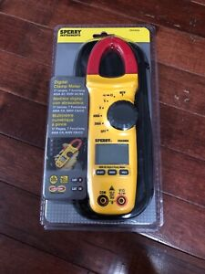 Sperry Instruments Dsa 500a Digital Snap around Clamp Meter New