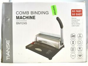 Comb Binding Machine Perfect For Daily Office Documents
