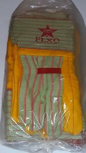 Boss Flxo 0666 Long Cup Heavy Duty Ironworkers Gloves 12 Pairs Size Large