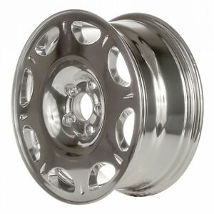 Polished 8 Window 16x7 Factory Wheel 1998 2002 Lincoln Continental