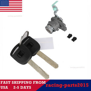 Front Left Door Lock Cylinder For Honda Accord 2003 2007 72181 Sda A11 W 2 Keys