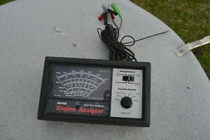 Sears Engine Analyzer Automotive Solid State Electronic Tester 161 216300