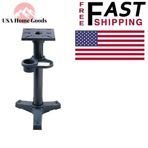 Bench Grinders Pedestal Stand Heavy Duty Cast Iron Mounting Surface Lot