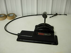 1960s 3sp Automatic Winters Race Shifter W Console Cable Amc Chevy Ford Mopar