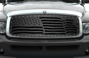 Custom Grille For 2002 2005 Dodge Ram Trucks 1500 2500 3500 Steel Grill America