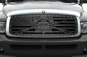 Custom Grille Kit For Dodge Ram Truck 1500 2500 3500 2002 2005 Liberty Or Death