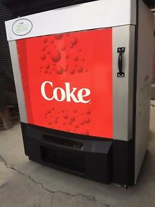 Coca Cola Reach In Cooler Refrigerator