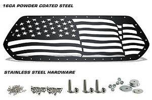 Custom Steel Grille American Flag Wave Fits Toyota Tacoma 2016 2017 Truck Grill