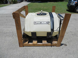 Landscape Turf Farm Pest Control 160 Gal Tank Broyhill On Skid New