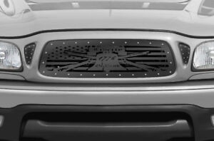 Custom Aftermarket Grille Steel Fits 2001 2004 Toyota Tacoma Liberty Or Death