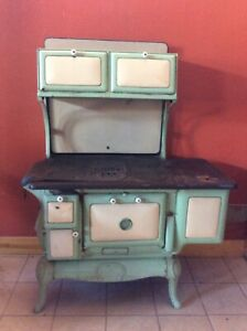 Antique Wood Burning Stove Montgomery Ward