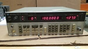 Hp 8656a Signal Generator 0 1 990mhz Please Read