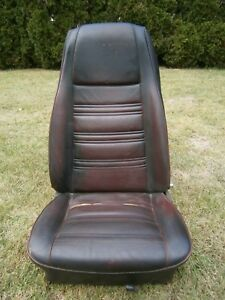 1969 1970 Ford Mustang High Back Bucket Seat Driver Side Left Mach 1