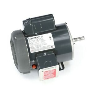 1 Hp Electric Motor Single Phase 56 Frame 1800 Rpm 1725
