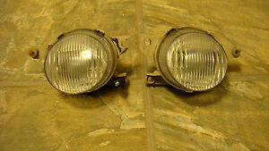 93 94 95 Honda Civic Del Sol Left Right Oem Front Fog Driving Lights Pair Usdm