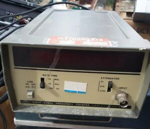 Hp 5381a Frequency Counter 80mhz Working