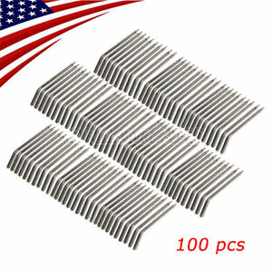 100pc Dental Nozzles Tips For 3 way Dental Air Water Triple Syringe Brand New Us