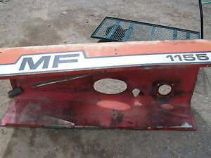 530159m91 1155 Massey Ferguson Panel Hood Used