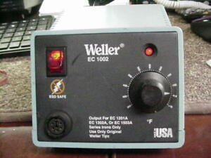 Weller Ec1002 Soldering Station Power Supply No Iron