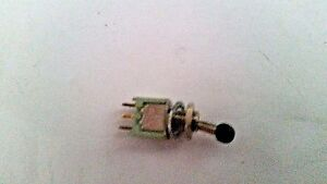 Alco Switch Tt13d 4t 0 Spdt On on 3a 125vac Tiny Ball Handle Solder