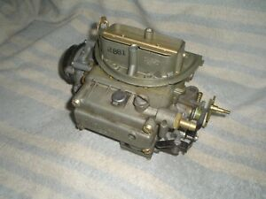 Holley 2881 Ford Mustang Shelby Cobra C4af 9510u 289 Tri Power Center Carb