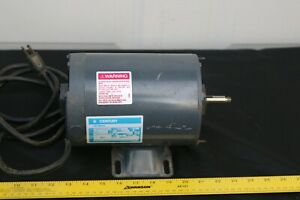 Century 1 Hp 3450 Rpm 48y Frame 115v Thermally Protected Swimming Pool Motor 1ph