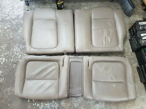 94 01 Acura Integra Gsr Coupe Oem Rear Beige Leather Seats Dc2 Db8 Eg6 Eg9 Em1