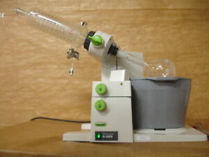 Buchi R 3000 Rotary Evaporator With Waterbath Glass Condenser 12062