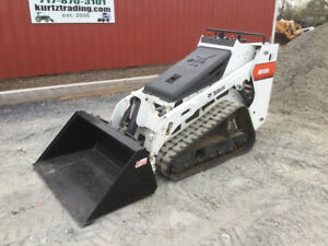 2016 Bobcat Mt85 Compact Track Stand On Skid Steer Loader