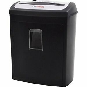Infoguard Nx80p 8 sheet Cross cut Paper Shredder With Pullout Basket