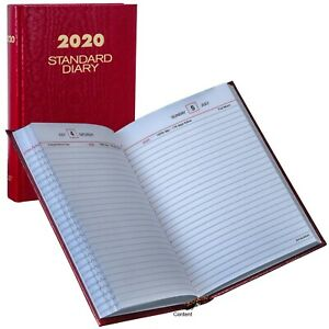 2020 At a glance Standard Diary Sd387 Daily Reminder 5 X 7 5