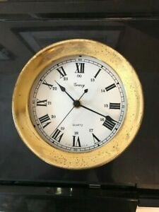 Solid Brass Ship S Porthole Geary Quartz Clock