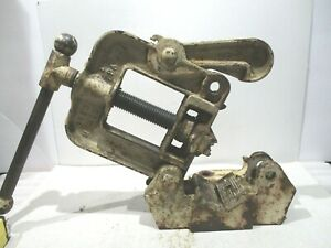 Reed No 1 _pipe Vise 1 8 To 2 Bends 1 8 To