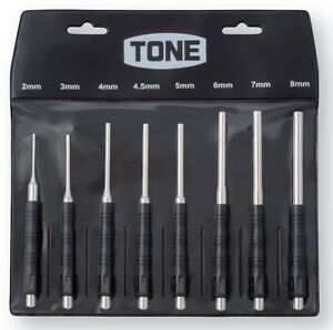 Tone Pin Punch 8 Size Set 2 3 4 4 5 5 6 7 8mm Pp800 Made In Japan