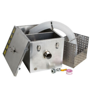 Commercial Grease Wastewater Oil Trap Interceptor Stainless Steel Restaurant Usa