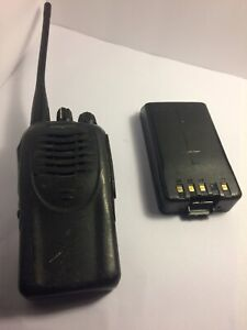 Kenwood Tk 3160 1 Uhf Fm Transceiver 16 Channels Missing Button