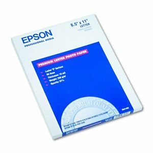 Epson S041405 Ultra Premium Photo Paper 64 Lbs Luster 8 1 2 X 11 pack Of 50