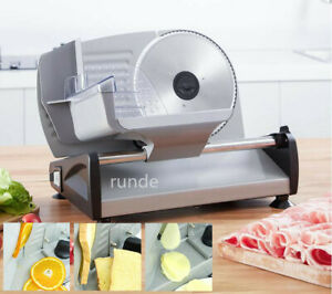 220v Multifunction Electrical Slicing Machine Bread Cutter Frozen Meat Mutton