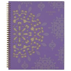 At a glance Vienna Weekly monthly Appointment Book 8 1 2 X 11 Purple 2018 1