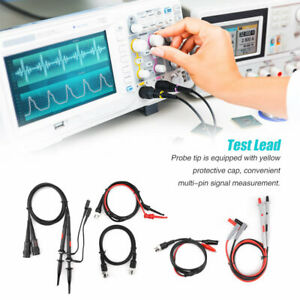 P1260d Oscilloscope Multimeter Test Leads Replaceable Probe Tips Set Hft