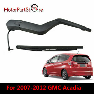 1x Rear Windshield Wiper Arm Blade For Gmc Acadia 2007 2012 Saturn Outlook