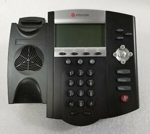Two Polycom Soundpoint Ip450 Poe 2200 12450 025 Phones