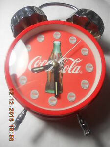 1996 Coca-Cola Clock & Alarm in a box.