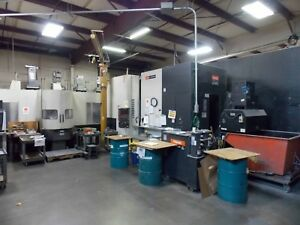 Mazak Hcn 6800ii Pallet Pool Cnc Horizontal Machining Center 50 Taper 10k Rpm