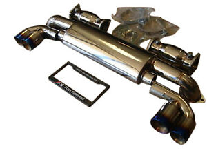 Fit Porsche 996 Tt Twin Turbo Gt2 Turbo Top Speed Pro 1 Single Canister Exhaust