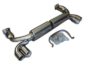 Fits Porsche 996 Tt Twin Turbo Gt2 Turbo 01 05 Top Speed Dual Canister Exhaust