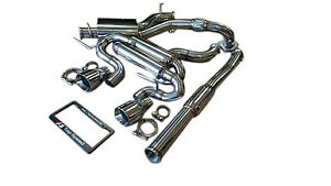 Fit Volkswagen Vw Golf R 2 0t Mk6 12 13 Top Speed Pro1 Turbo Back Exhaust System