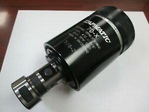New Tapmatic 70x Tapping Head With 7 8 20 Female Thread 10 To 5 8 Capacity