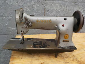 Industrial Sewing Machine Singer 112w139 Walking Foot Two Needle leather