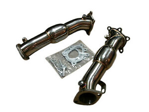 Fit Nissan Skyline Gtr R35 09 19 Top Speed Pro 1 Turbo Down Pipe resonated